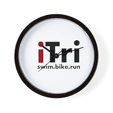 iTri Triathlon Merchandise Wall Clock