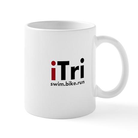 iTri Triathlon Merchandise Mug