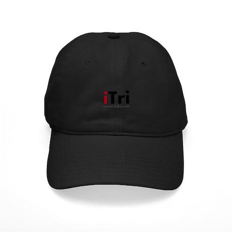 iTri Triathlon Merchandise Black Cap