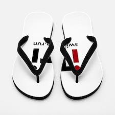 iTri Triathlon Merchandise Flip Flops