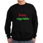 Party Vegetable Sweatshirt (dark)