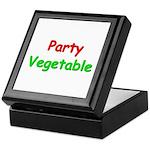 Party Vegetable Keepsake Box