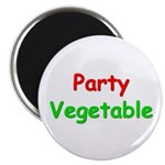 Party Vegetable Magnet