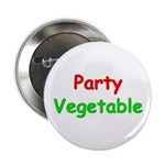 """Party Vegetable 2.25"""" Button"""