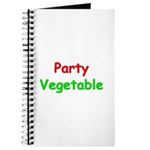 Party Vegetable Journal