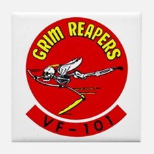 Fighting 101 Grim Reapers Tile Coaster