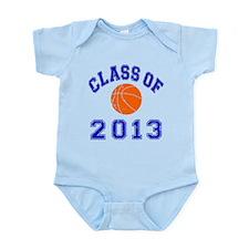 Class Of 2013 Basketball Infant Bodysuit