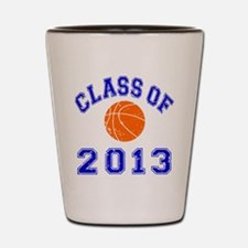 Class Of 2013 Basketball Shot Glass