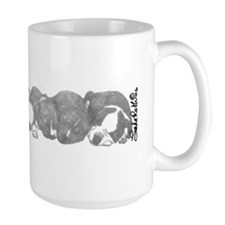 peaceful puppies Mug
