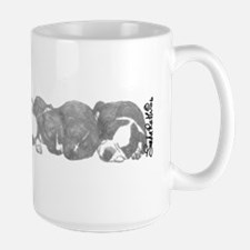 peaceful puppies Mug