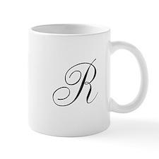 R Initial Mug