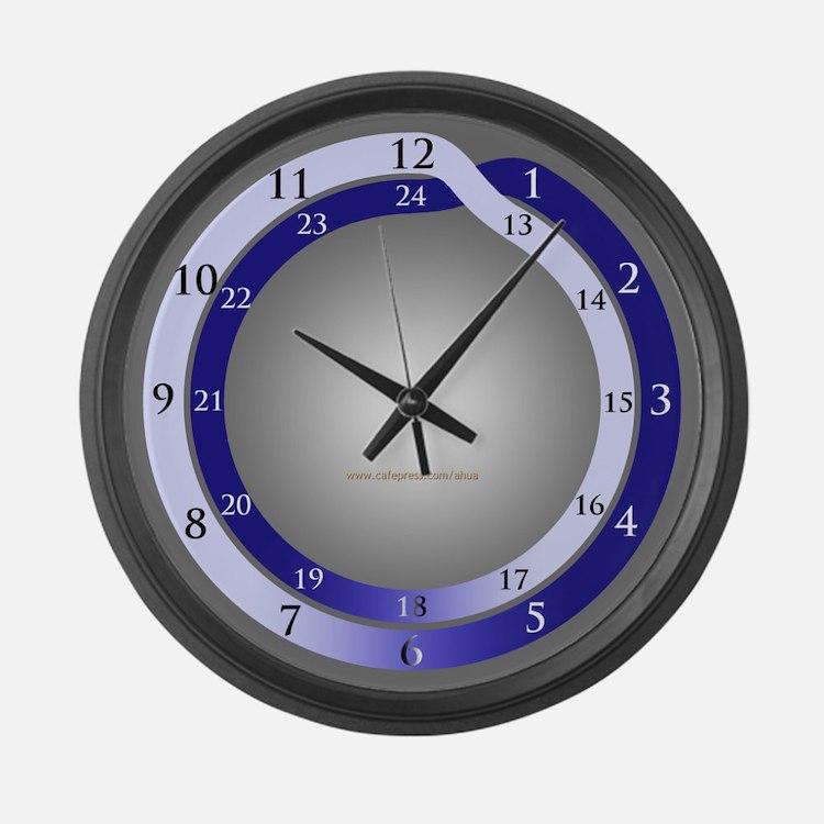 24 Hour Clocks 24 Hour Wall Clocks Large Modern