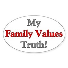 My Family Values Truth Decal