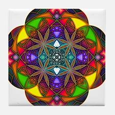 Funny Meditate Tile Coaster