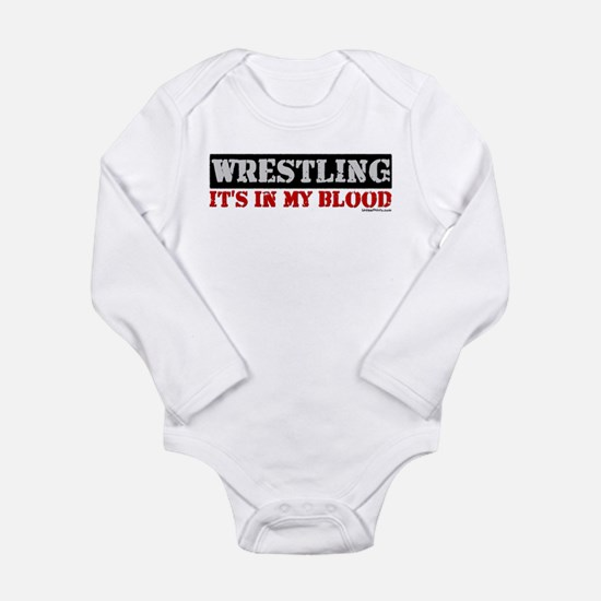 WRESTLINGinmyblood copy Body Suit