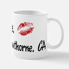 Kiss Me: Hawthorne Mug