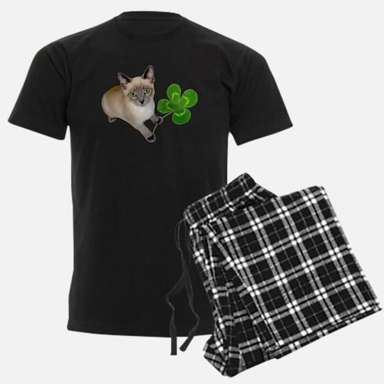 Kitten 4 Leaf Clover Pajamas