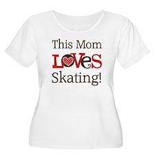 Mom Loves Skating T-Shirt