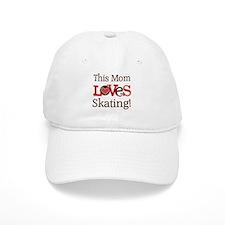 Mom Loves Skating Baseball Cap