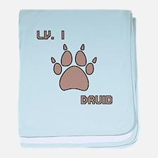 Level 1 Druid baby blanket
