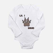Level 1 Druid Long Sleeve Infant Bodysuit