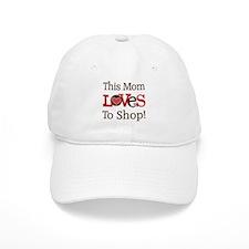 Mom Loves To Shop Baseball Cap