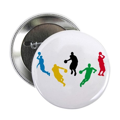 "Basketball Players 2.25"" Button"