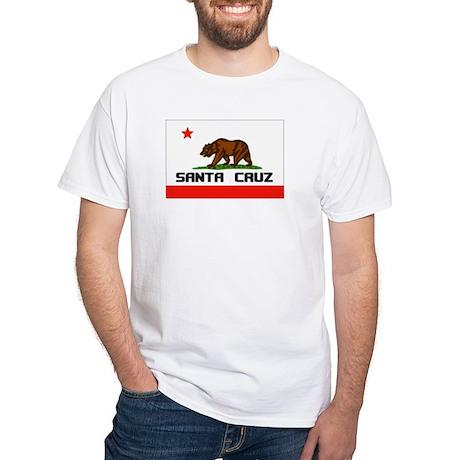 Santa Cruz,Ca -- T-Shirt White T-Shirt