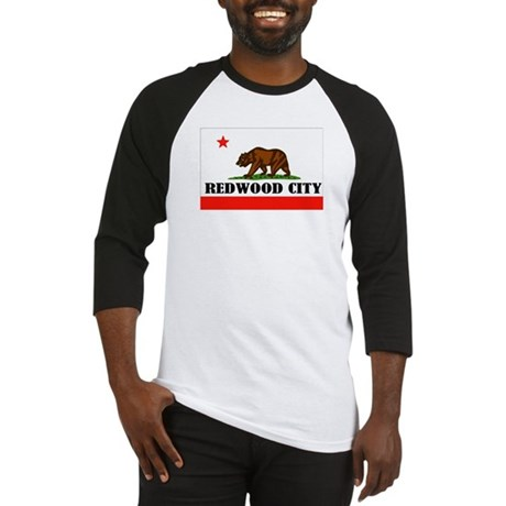 Redwood City,Ca -- T-Shirt Baseball Jersey