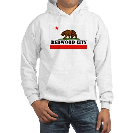 Redwood City,Ca -- T-Shirt Hooded Sweatshirt