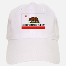 Redwood City,Ca -- T-Shirt Baseball Baseball Cap