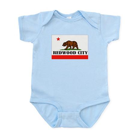 Redwood City,Ca -- T-Shirt Infant Bodysuit