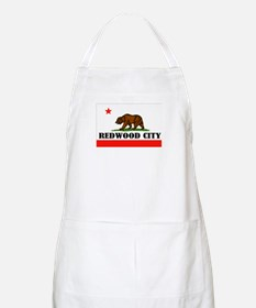 Redwood City,Ca -- T-Shirt Apron