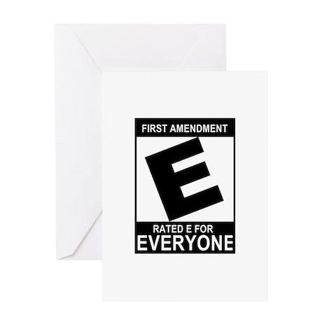 1st Ammendment - Greeting Card