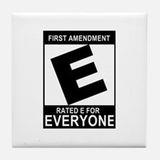 1st Ammendment - Tile Coaster