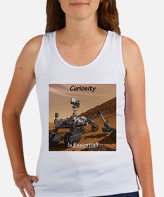 Curiosity Is Essential! Women's Tank Top