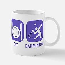 Sleep Eat Badminton Mug