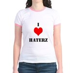 I LUV HATERZ GEAR Jr. Ringer T-Shirt