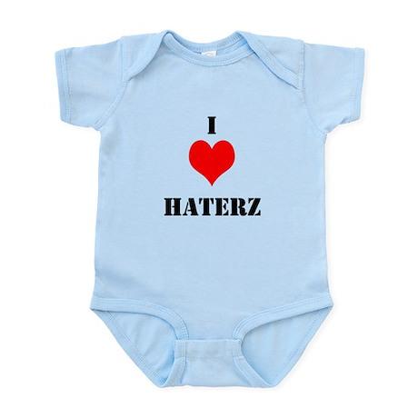 I LUV HATERZ GEAR Infant Bodysuit