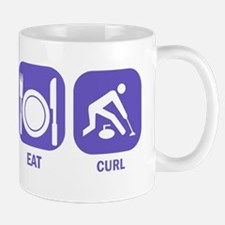 Sleep Eat Curl Mug