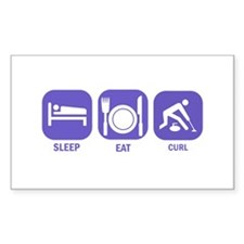 Sleep Eat Curl Decal