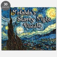 Mafalda's Starry Night Puzzle