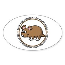 Wombat Of Happiness Decal