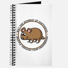 Wombat Of Happiness Journal