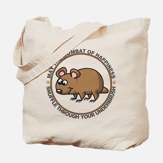 Wombat Of Happiness Tote Bag