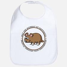 Wombat Of Happiness Bib