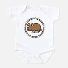 Wombat Of Happiness Infant Bodysuit