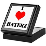 I LUV HATERZ GEAR Keepsake Box