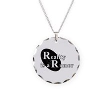 Reality is a Rumor 02 Necklace Circle Charm