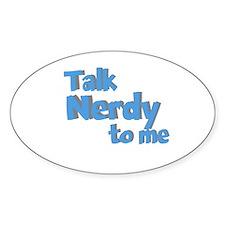 Talk Nerdy Decal